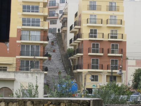 Der Wasserfall von Mellieha